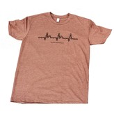 Bryson City Bicycles BCB Heartbeat Tee Mens Espresso