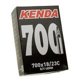 Kenda Kenda Inner Tube, Presta, 700X18/23 (27X1), 32mm