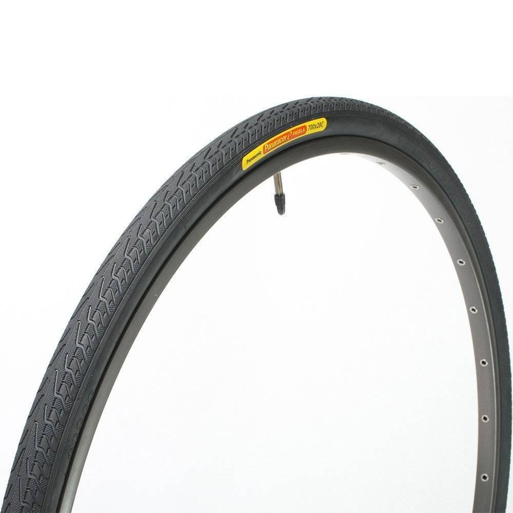 "Panaracer Panaracer Pasela 24x1"" Tire Steel Black/Black"