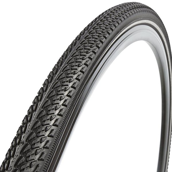 Vittoria Vittoria Randonneur Trail Tire: Wire Bead, 700x38, Black