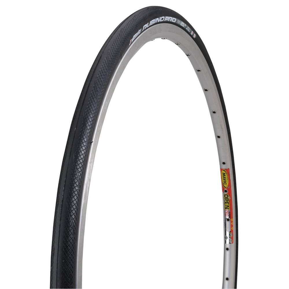 Vittoria Vittoria Rubino Pro G+ Tire: Folding Clincher, 700x25, Black