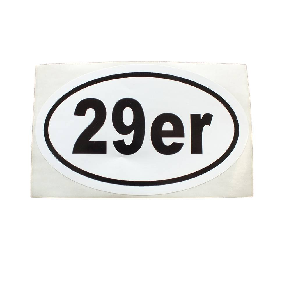 Sticker Cafe 29er sticker