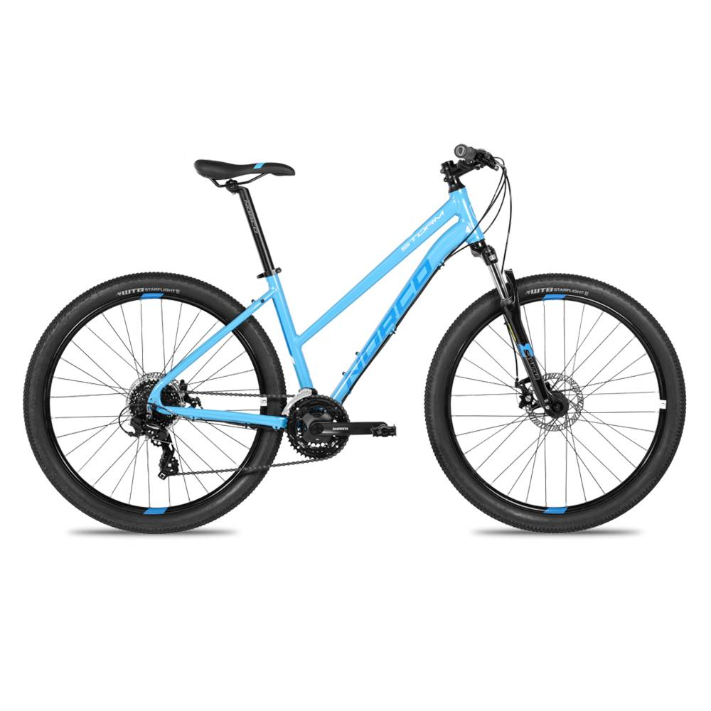 "NORCO Norco Storm 3 Step Thru Blue 27.5"" XS"