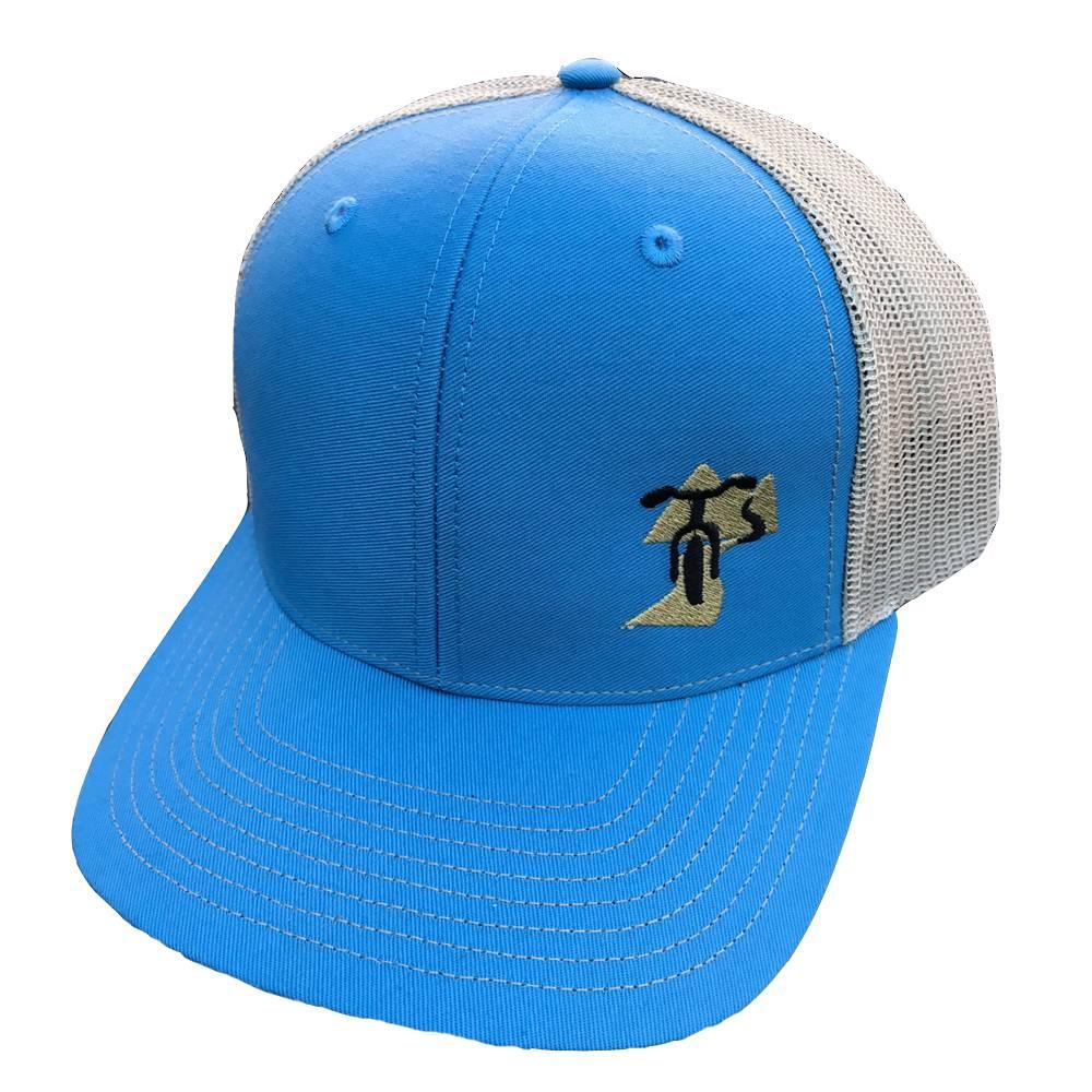 IMAGE 420 BCB Logo Hat- light blue/khaki