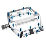 """DMR DMR Vault Pedals, 9/16"""" Alloy Platform Polished Silver"""