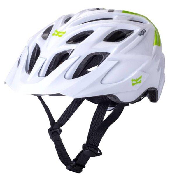 Kali Protectives Kali Chakra Solo Helmet White/Green MD/LG