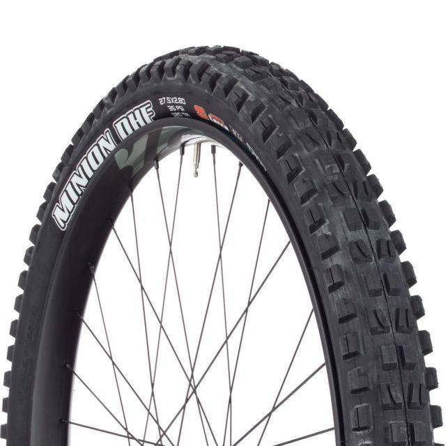 "Maxxis Maxxis Minion DHF 27.5x2.80"" Tire 120tpi, 3C Maxx Terra Compound, EXO Casing, Tubeless Ready, Black"