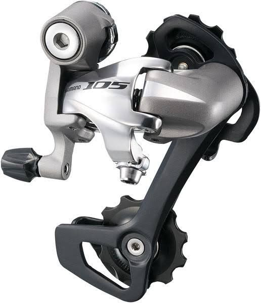 Shimano Shimano 105 5701-GS 10-Speed Medium Cage Black Rear Derailleur