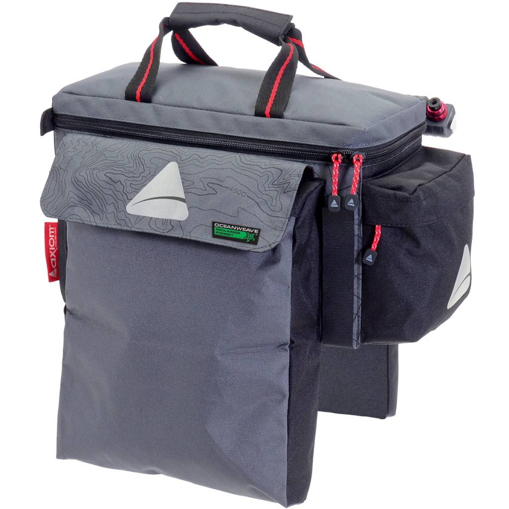 Axiom Axiom Seymour Oceanweave EXP15+ Trunk Bag: Gray/Black