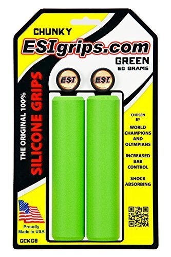 ESI ESI Chunky Silicone Grips: Green