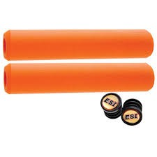 ESI ESI Racer's Edge Silicone Grips: Orange
