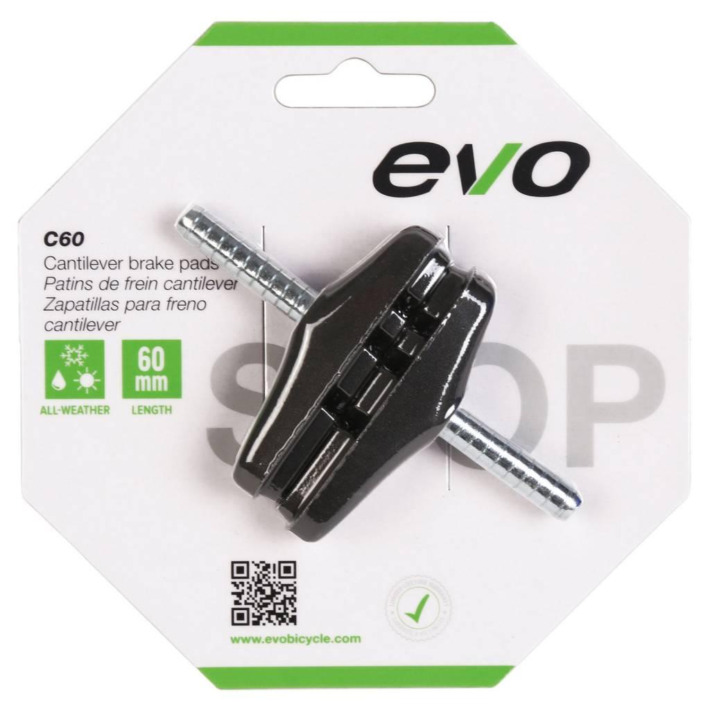 EVO EVO, C60, Cantilever brake pads, 60mm, Threadless post