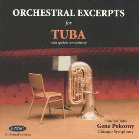 CD Orchestral Excerpts for Tuba, Pokorny