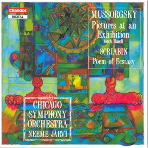 CD Mussorgsky: Pictures at an Exhibition; Scriabin: Poem of Ecstasy, Jarvi/CSO
