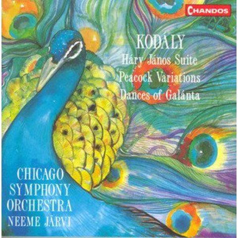 CD Kodaly: Dances of Galanta, Hary Janos Suite, The Peacock, Jarvi/CSO