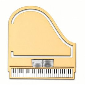 Piano Bookmark