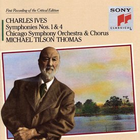 CD Ives: Sym. 1 & 4, Thomas/CSO&C