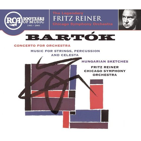 CD Bartok: Concerto for Orchestra; Music for Strings, Percussion and Celesta; Hungarian Sketches, Reiner/CSO