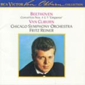 CD Beethoven: PC 4 & 5, Reiner/Van Cliburn/CSO