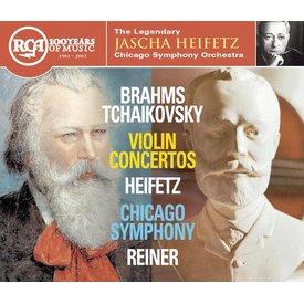 CD Brahms, Tchaikovsky: VC, Reiner/Heifetz/CSO