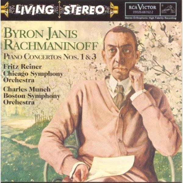 CD Rachmaninoff: PC 1 & 3, Reiner/Munch/Janis/CSO/BSO