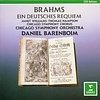 CD Brahms: Ein deutsches Requiem, Barenboim/Williams/Hampson/CSO&C
