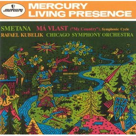 CD Smetana: Ma Vlast, Kubelik/CSO