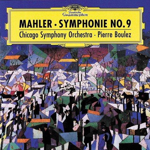 CD Mahler: Sym. 9, Boulez/CSO