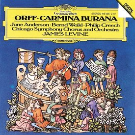 CD Orff: Carmina Burana, Levine/CSO&C