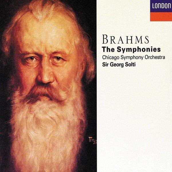 CD Brahms: Complete Symphonies, Solti/CSO