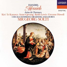 CD Handel: Messiah, Arias & Choruses, Solti/CSO&C