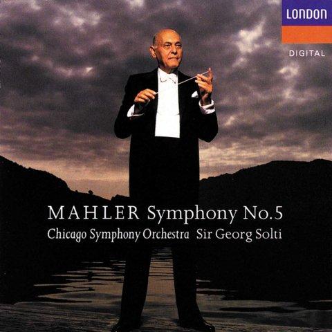 CD Mahler: Sym. 5, Live, Solti/CSO