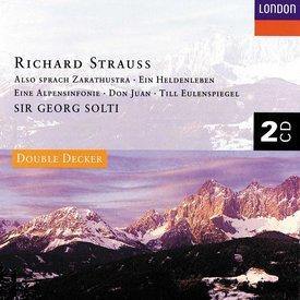 CD Strauss: Ein Heldenleben, Also sprach Zarathustra, Don Juan, Till Eulenspiegel, Eine Alpensinfonie, Solti/VPO/CSO/Bavarian