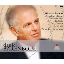 CD Strauss: Symphonic Poems, Barenboim/CSO