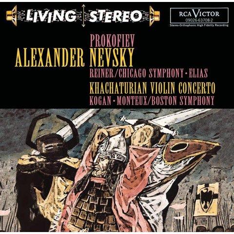 CD Prokofiev: Alexander Nevsky, Khachaturian: VC, Reiner/Monteux/Kogan/CSO/BSO