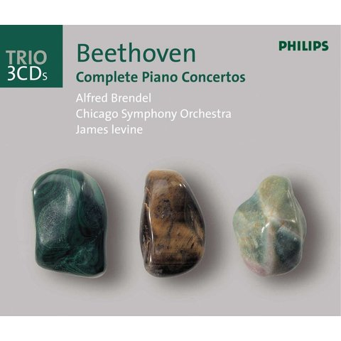 CD Beethoven: Complete PC, Levine/Haitink/Brendel/CSO/LPO