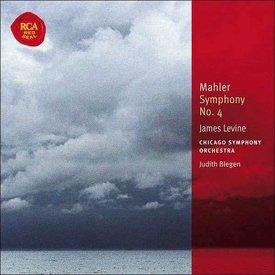 CD Mahler: Sym. 4, Levine/Blegen/CSO