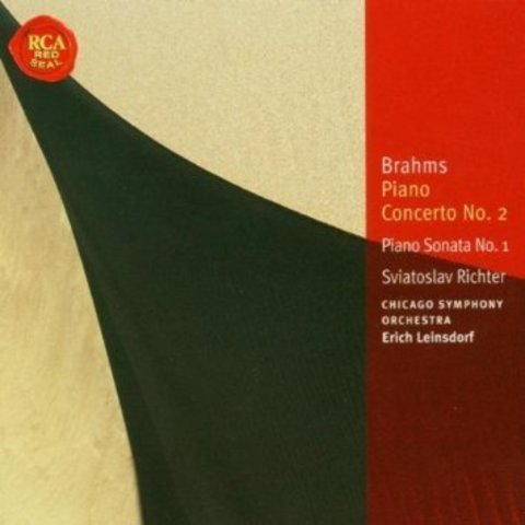 CD Brahms: PC 2, PS 1, Leinsdorf/Richter/CSO