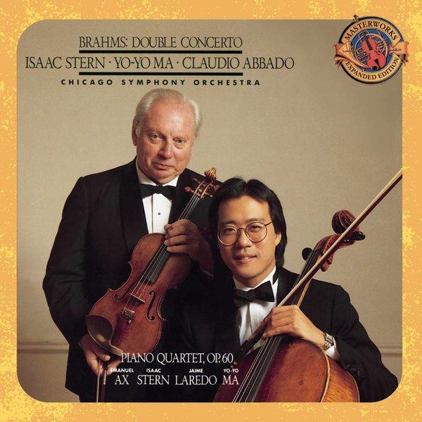 CD Brahms: Double Concerto, PQ 1 & 3, Abbado/Ma/Ax/CSO