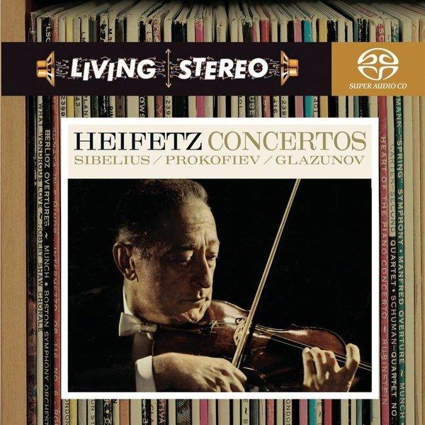 SACD Heiftez Concertos: Sibelius: VC, Prokofiev: VC 2, Glazunov: VC, Hendl/Munch/Heifetz/CSO/BSO/RCA
