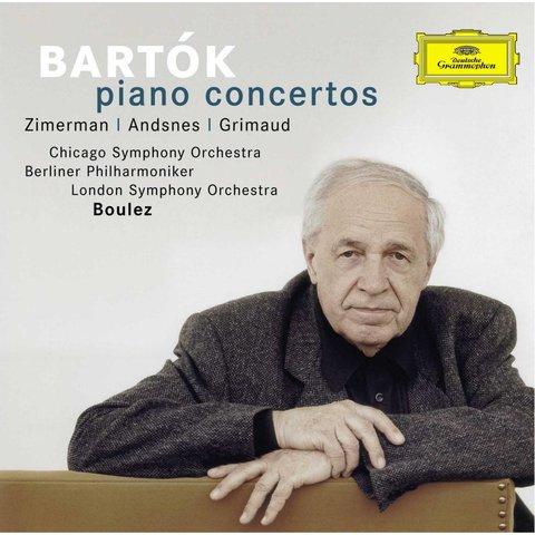 CD Bartok: PC 1-3, Boulez/Zimmerman/Andsnes/Grimaud/CSO/BP/LSO