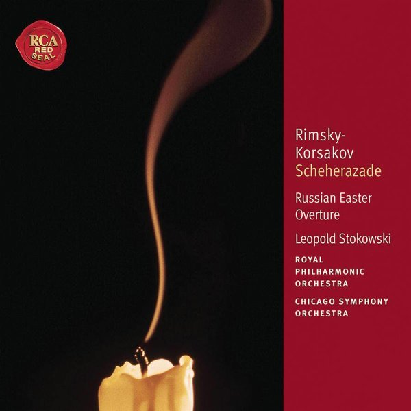 CD Rimsky-Korsakov: Scheherazade, Russian Easter Overture, Stokowski/RPO/CSO