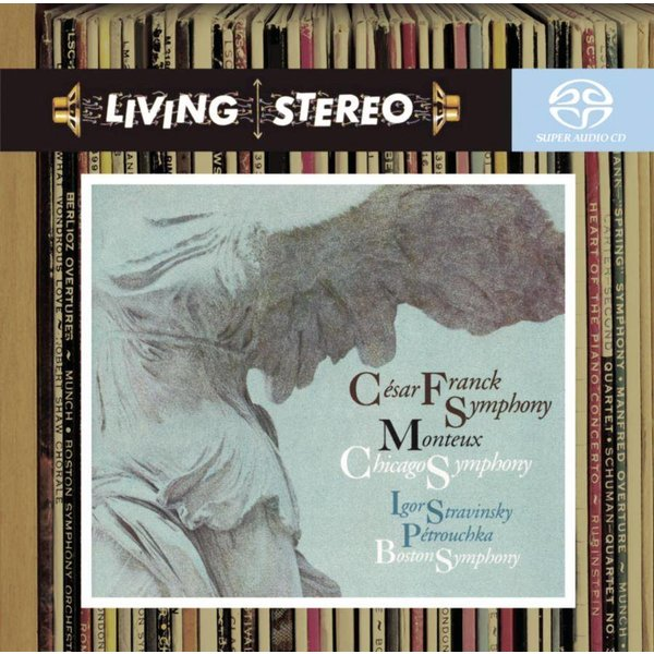 SACD Franck: Symphony in D, Stravinsky: Petrouchka, Monteux/CSO/BSO