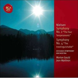 CD Nielsen: Sym. 2 & 4, Helios Overture, The Fog is Lifting, Gould/Martinon/CSO