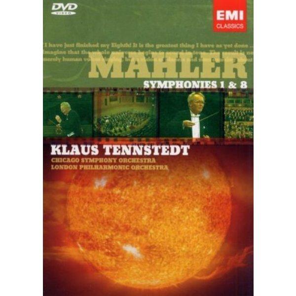 DVD Mahler: Sym. 1 & 8, Tennstedt/CSO/LPO