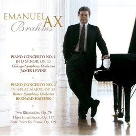 CD Brahms: PC 1 & 2, Piano Pieces, Levine/Haitink/Ax/CSO/BSO