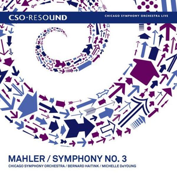 CD Mahler: Sym. 3, Haitink/DeYoung/CSO&C