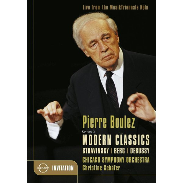 DVD Pierre Boulez Conducts Modern Classics (Stravinsky, Berg, Debussy), Boulez/Schafer/CSO