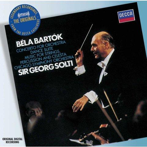 CD Bartok: Concerto for Orchestra; Dance Suite; Music for Strings, Percussion and Celesta, Solti/CSO