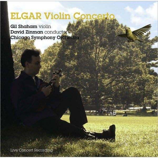 CD Elgar: VC, Zinman/Shaham/CSO